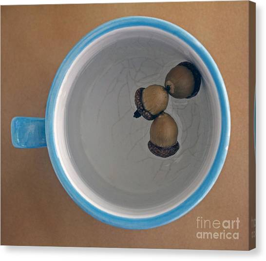 Mug And Finials 1 Canvas Print
