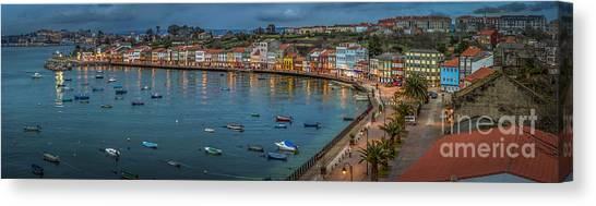Mugardos Panorama Galicia Spain Canvas Print
