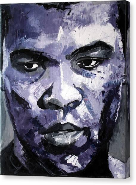 Muhammad Ali Canvas Print - Muhammad Ali by Richard Day