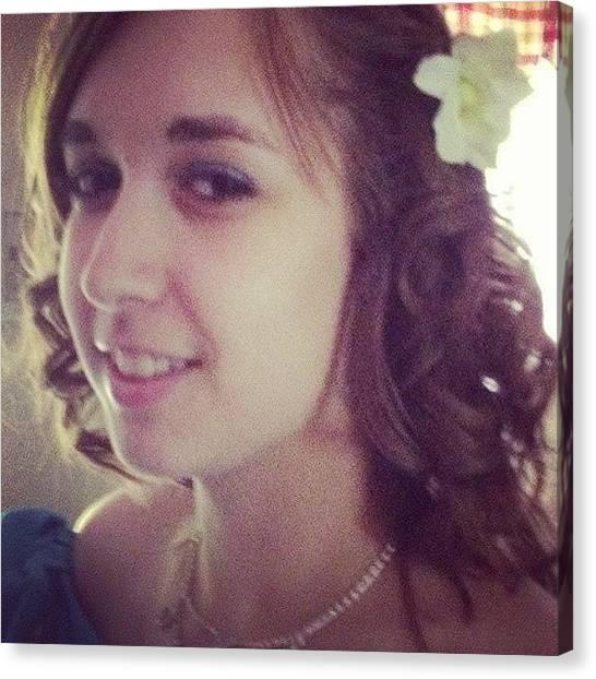 Unicorns Canvas Print - #muhface #weddingpic #bridesmaid #hair by Tiffany Harned
