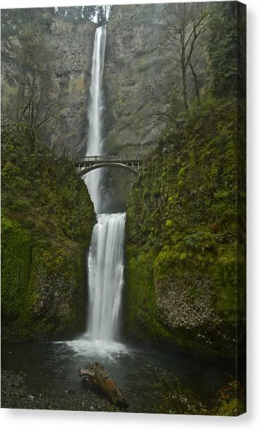 Multnomah Falls 0403131b Canvas Print
