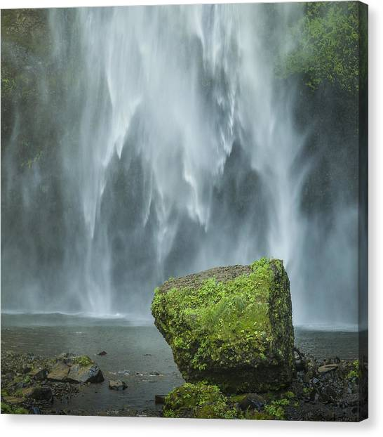 Multnomah Rock Canvas Print