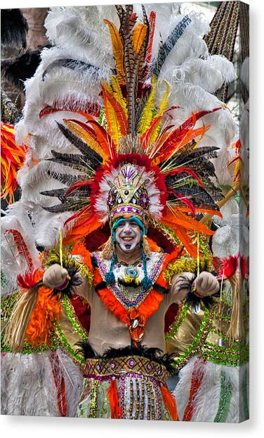 Mummer Wow Canvas Print