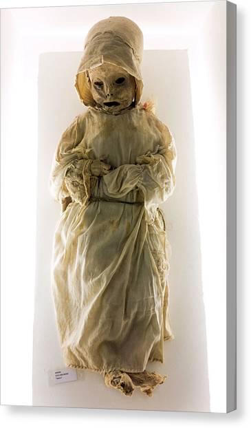 Guanajuato Canvas Print - Mummy Museum by Daniel Sambraus