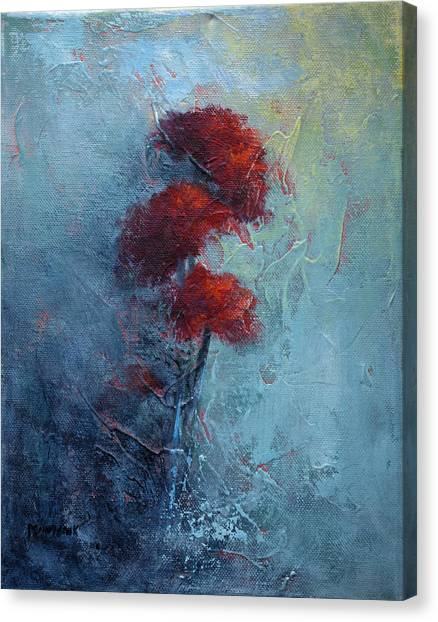 Mums Canvas Print by Bob Pennycook