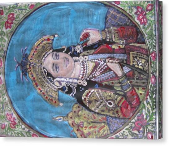 Mumtaz Canvas Print