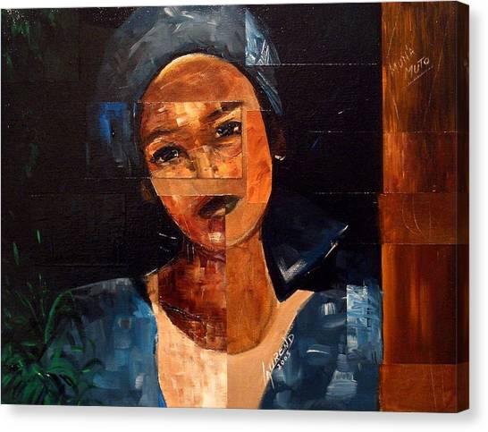 Muna Muto Canvas Print by Laurend Doumba