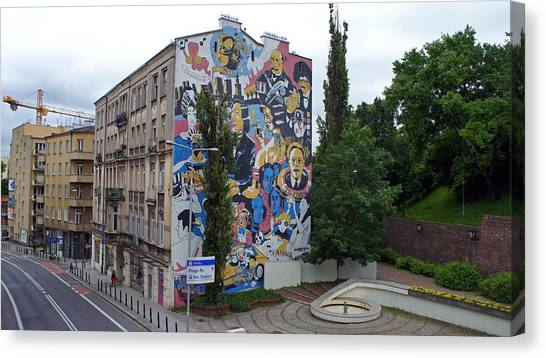 Mural Canvas Print by Kees Colijn