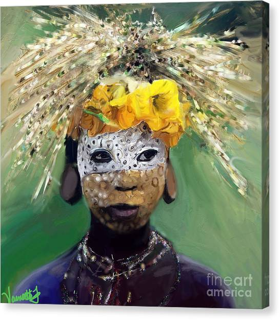 Muris Tribe Africa Canvas Print