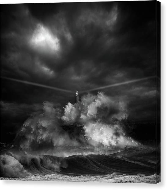 Explosion Canvas Print - Muro Time by Pete S?nchez