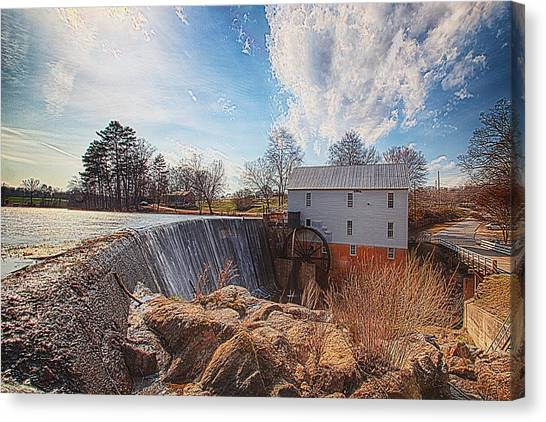 Murray's Mill Canvas Print