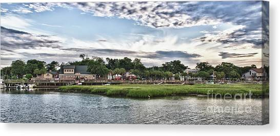 Murrells Inlet Marsh Walk Canvas Print