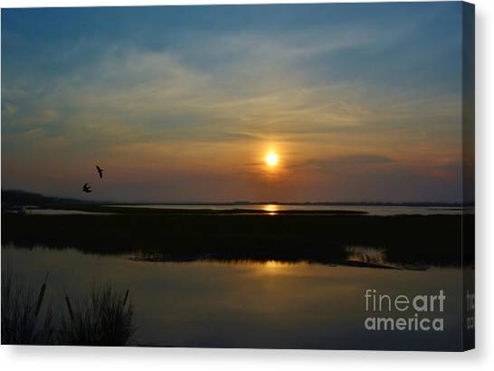 Murrells Inlet Sunrise Canvas Print
