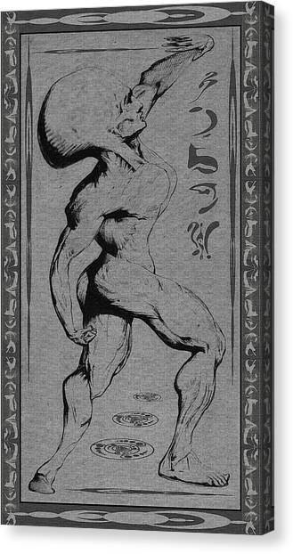 Musculosa Alienum Canvas Print