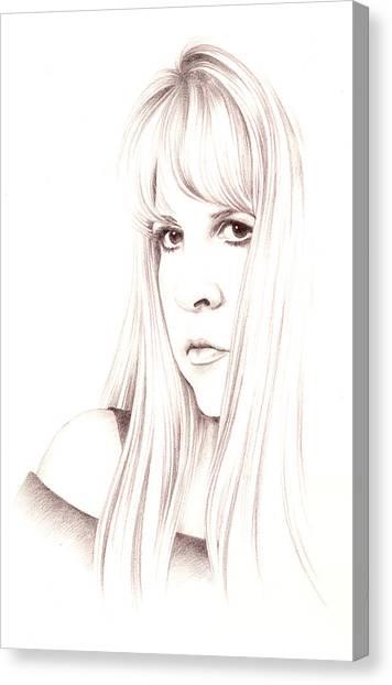 Stevie Nicks Canvas Print - Muse by Johanna Pieterman