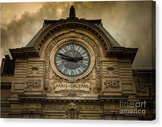 Europa Canvas Print - Musee Orsay by Inge Johnsson