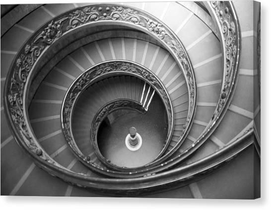 Musei Vaticani Stairs Canvas Print