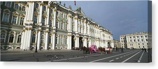 State Hermitage Canvas Print - Museum Along A Road, State Hermitage by Panoramic Images
