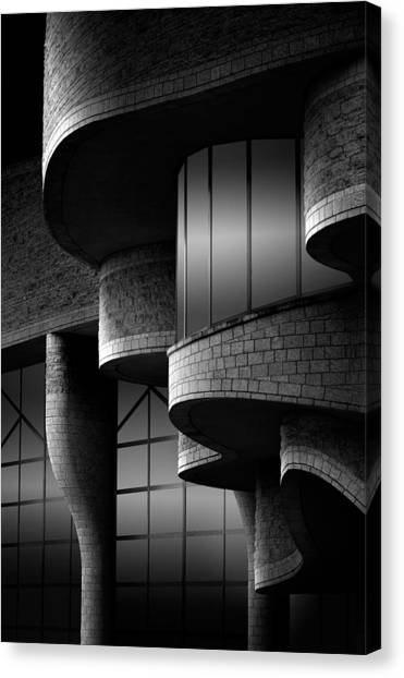 Bricks Canvas Print - Museum by Louis-philippe Provost