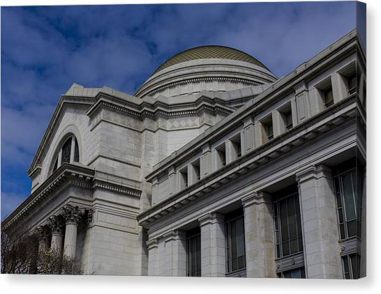 Smithsonian Institute Canvas Print - Museum Of Natural History by Andrew Pacheco
