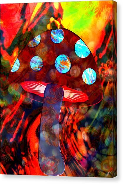 Mushroom Delight Canvas Print