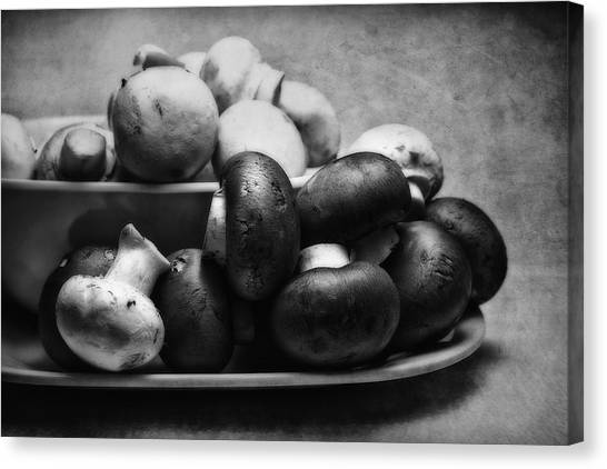 Food Canvas Print - Mushroom Still Life by Tom Mc Nemar