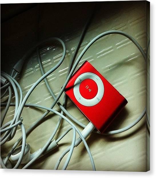 Submarine Canvas Print - Music + Submarine #ipod #shuffle #music by Shawn Who