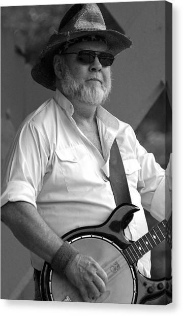 Music-banjo Canvas Print