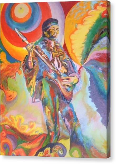 Music Is Ecstasy  Canvas Print by Erik Franco