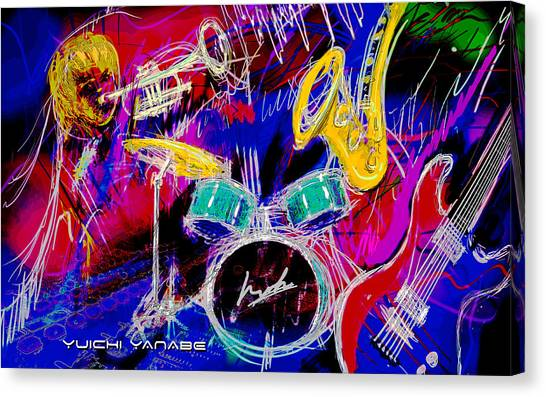 Music Medley Canvas Print