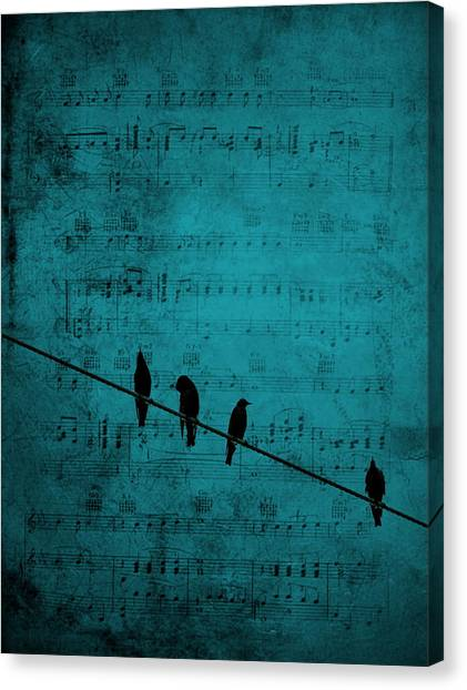 Music Soothes The Soul Canvas Print