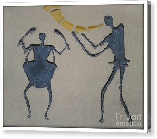 Music Time Canvas Print by Ankit Garg