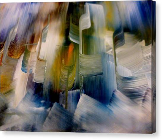 Music With Paint Canvas Print
