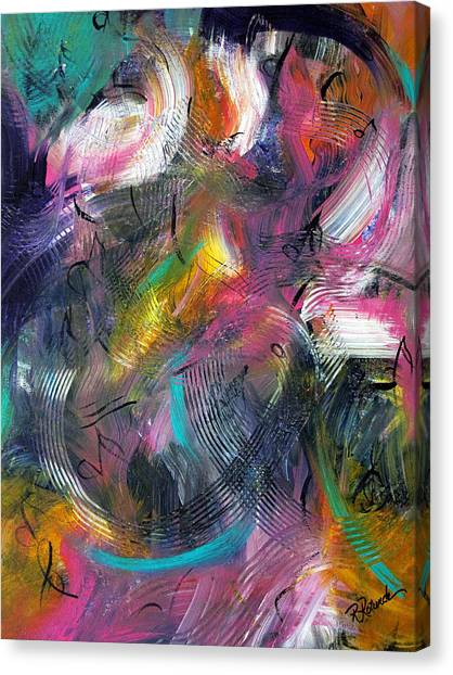 Musical Flow Canvas Print