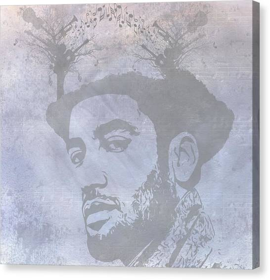 Music Genres Canvas Print - Musical Mind Of Ben Harper by Dan Sproul