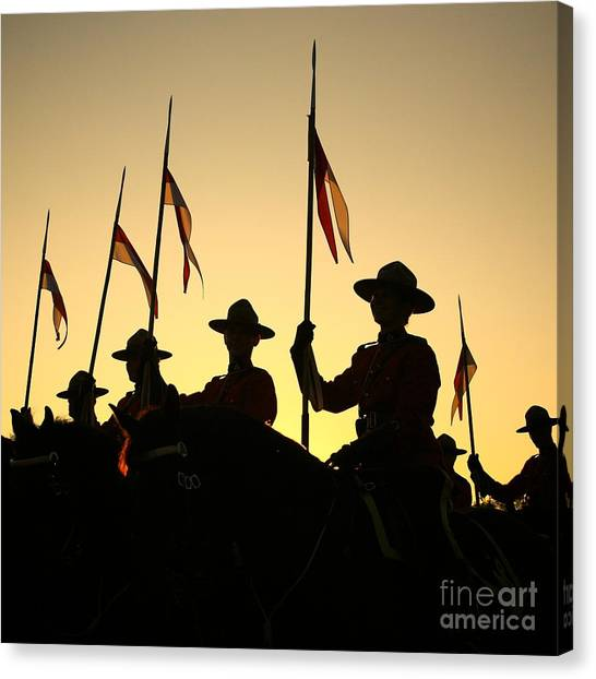 Musical Ride Canvas Print