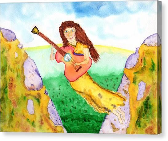 Musical Spirit 11 Canvas Print