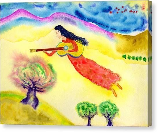 Musical Spirit 12 Canvas Print