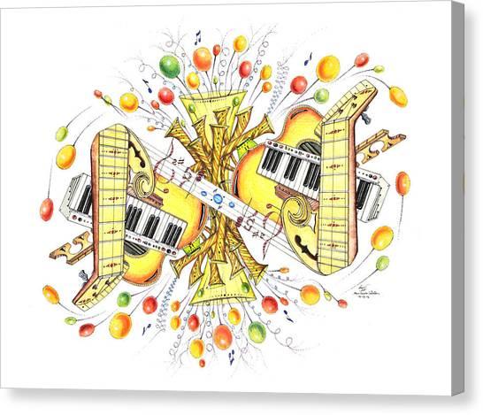 Musicality 2 Canvas Print