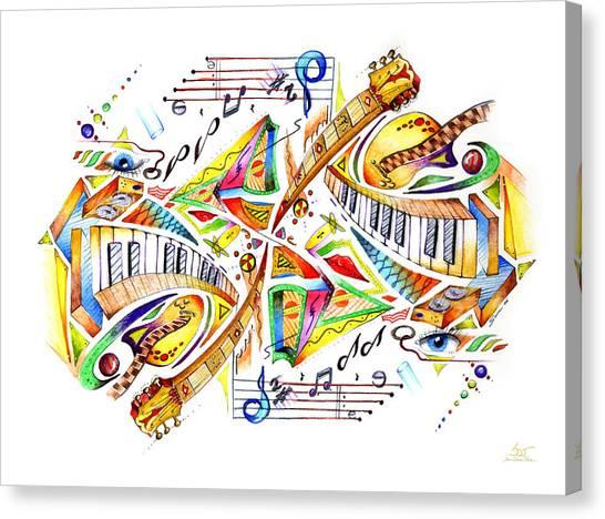 Musicality Canvas Print