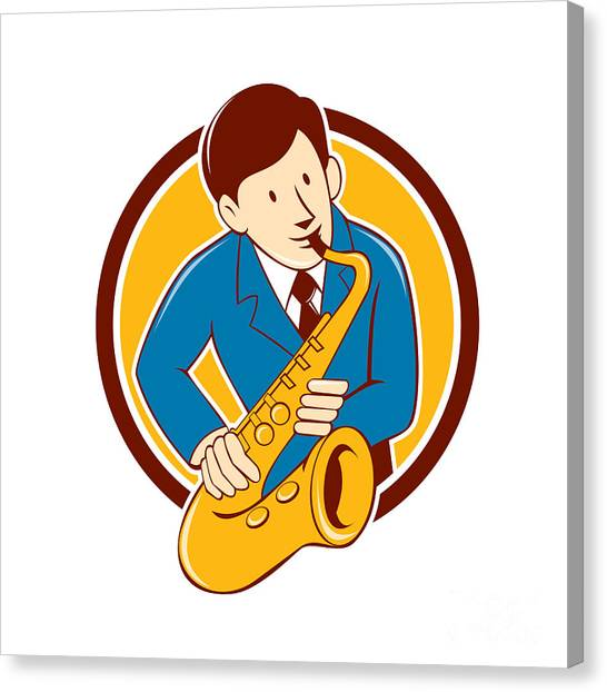 Sax Player Canvas Prints (Page #3 of 15) | Fine Art America