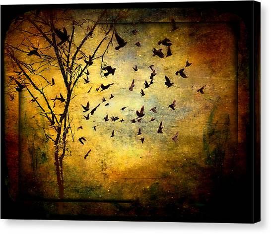 Musicisti Dell'aria Canvas Print