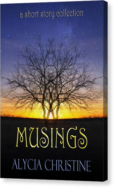 Musings Cover Canvas Print
