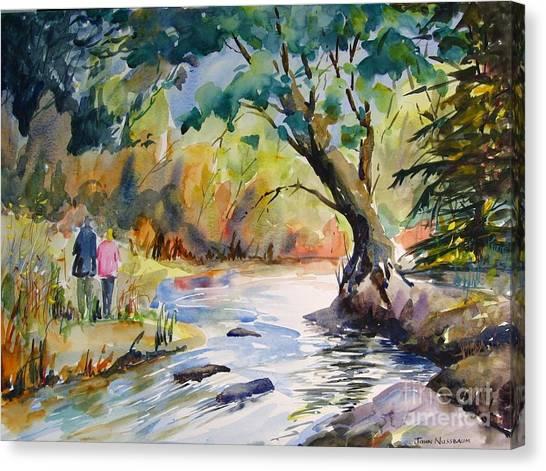 Muskoka Stroll Canvas Print