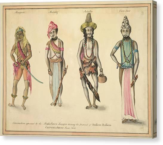 Islam Canvas Print - Mussulmen Seapoys by British Library