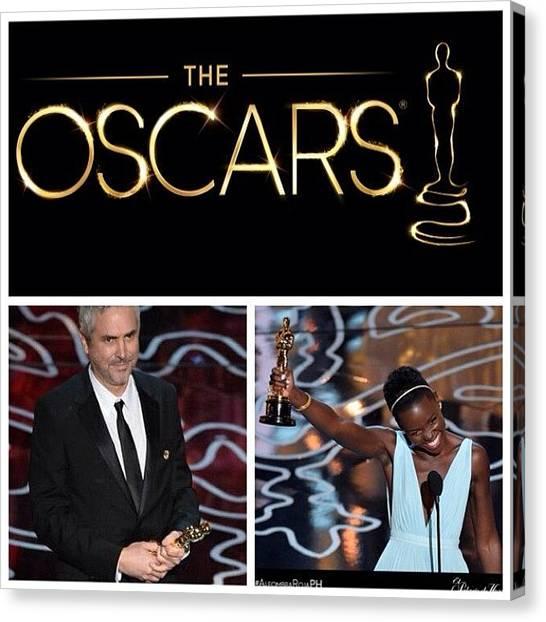Oscars Canvas Print - The Oscars by Oscar Lopez