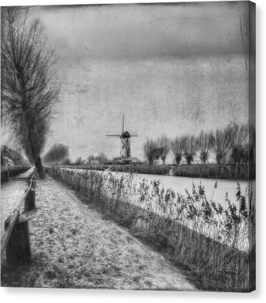 Belgium Canvas Print - My Beloved Flat Country: Damme by Yvette Depaepe