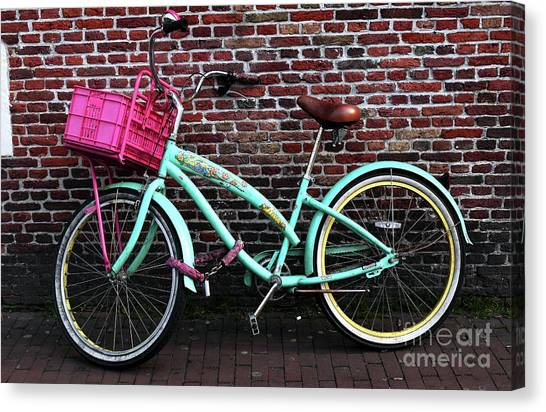 My Bike Canvas Print by John Rizzuto