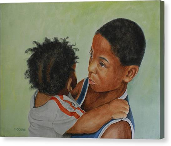 My Brother's Keeper Canvas Print