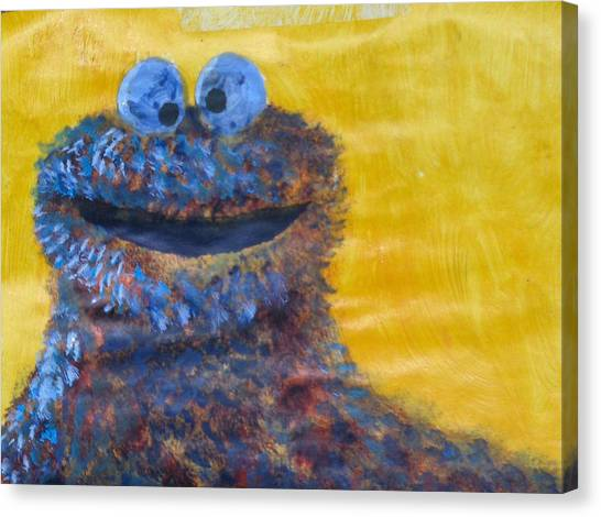 Sesame Street Canvas Prints | Fine Art America
